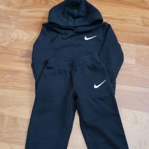 Nike sweatshirt with matching sweat pants size 3T